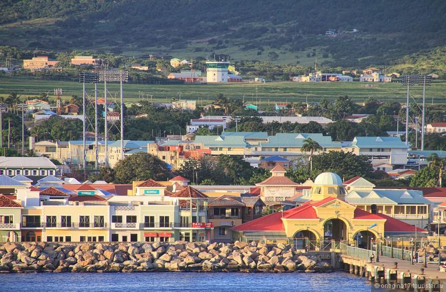 Сент-Китс мечтает стать главным курортом Кариб.