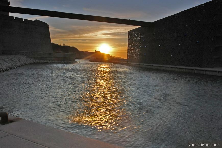 закат  вид из крепости