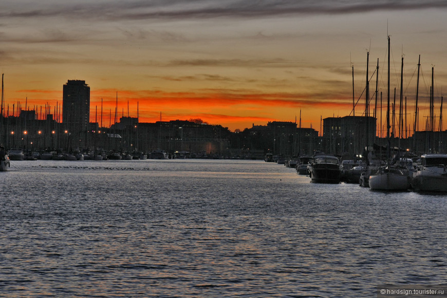 Порт закат