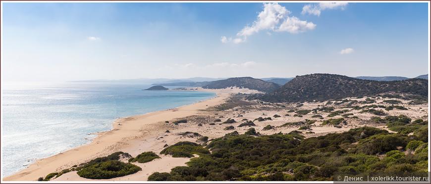Полуостров Карпас. Golden beach. Главная мекка для паломников за правильными кипрскими пляжами )