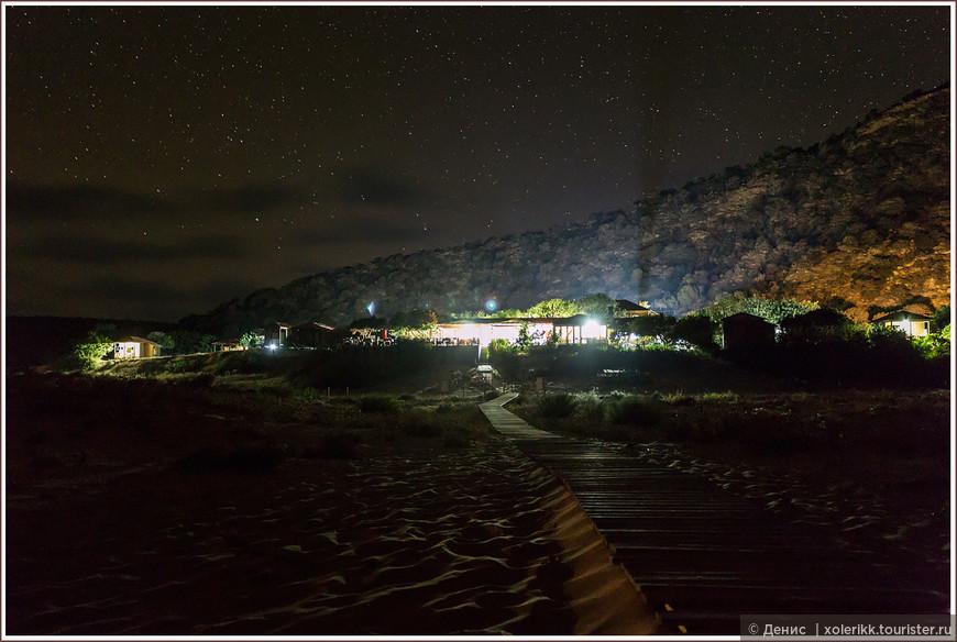 Бунгало - Burhan's Golden Beach. Место для ночлега под звёздами.