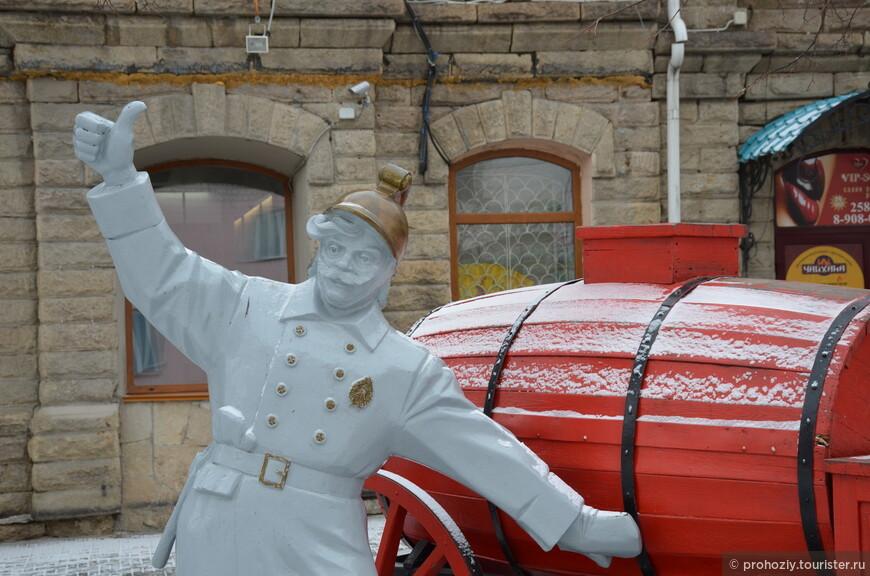У этого пожарного все отлично!