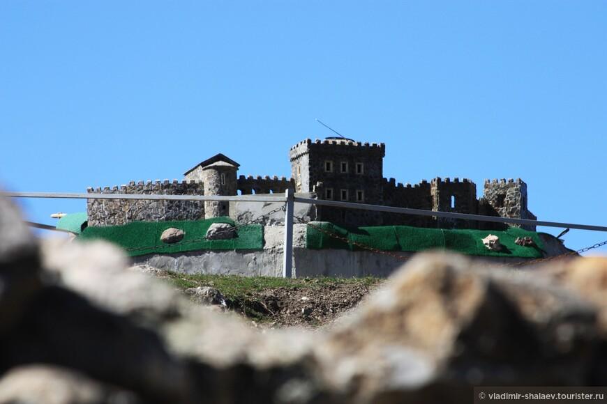 Макет крепости Фуна.