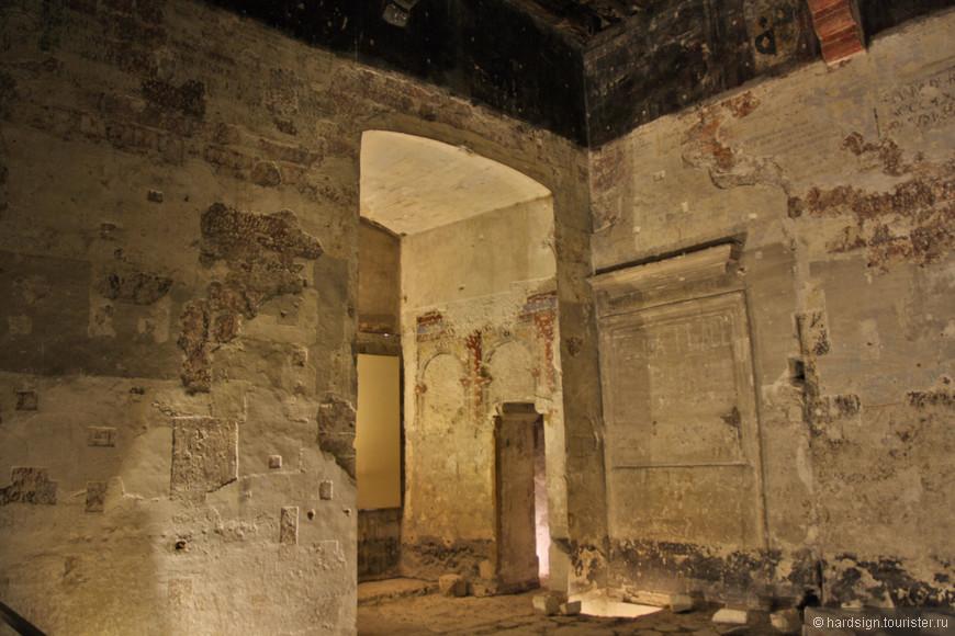 несколько залов оставлены без реставрации