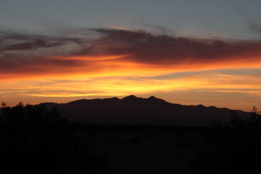 Пустынный вечер