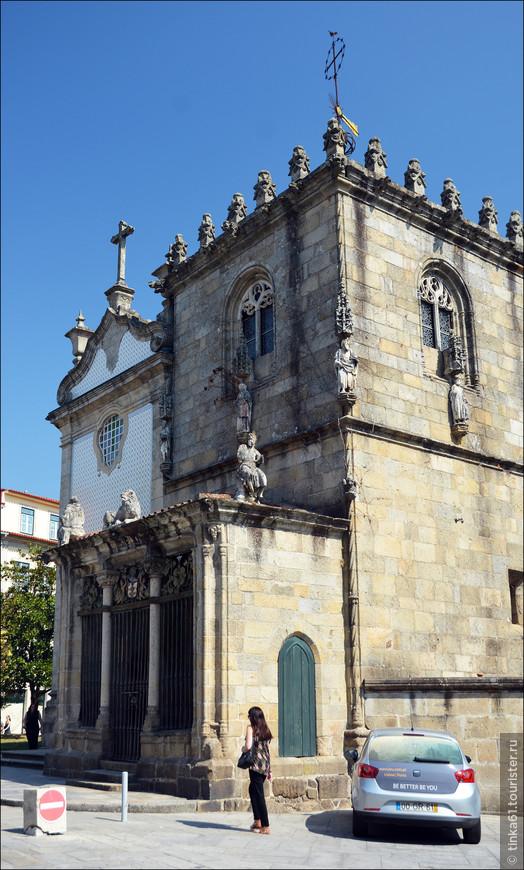 Часовня  Capilla dos Coimbras.