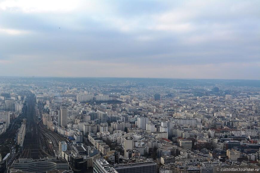 Вид с башни Монпарнас (день)