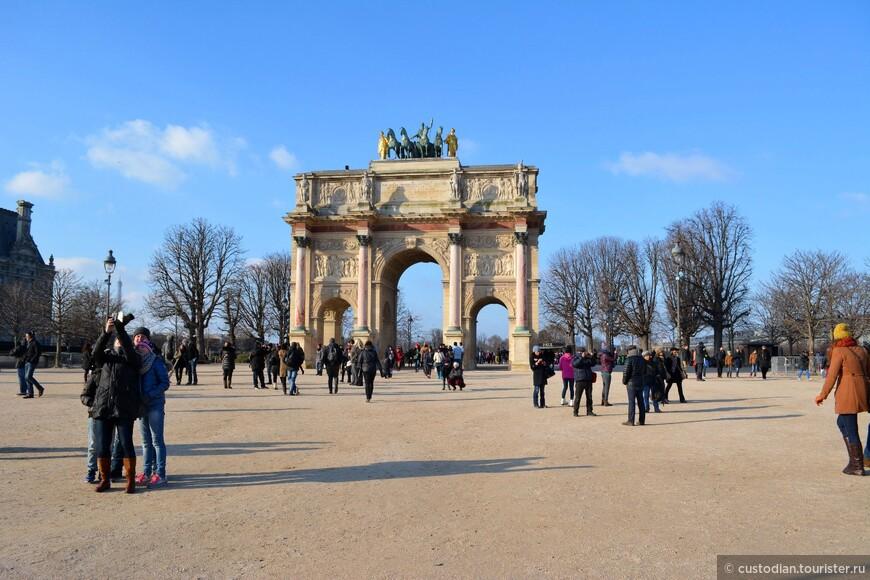 напротив Лувра
