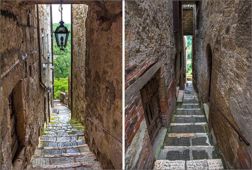 Узкими переходами гуляем от одной улочке старого города к другой.