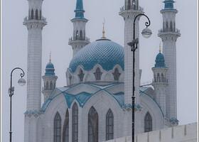 Мечеть Кул-Шариф. Вид с площади Тысячелетия.