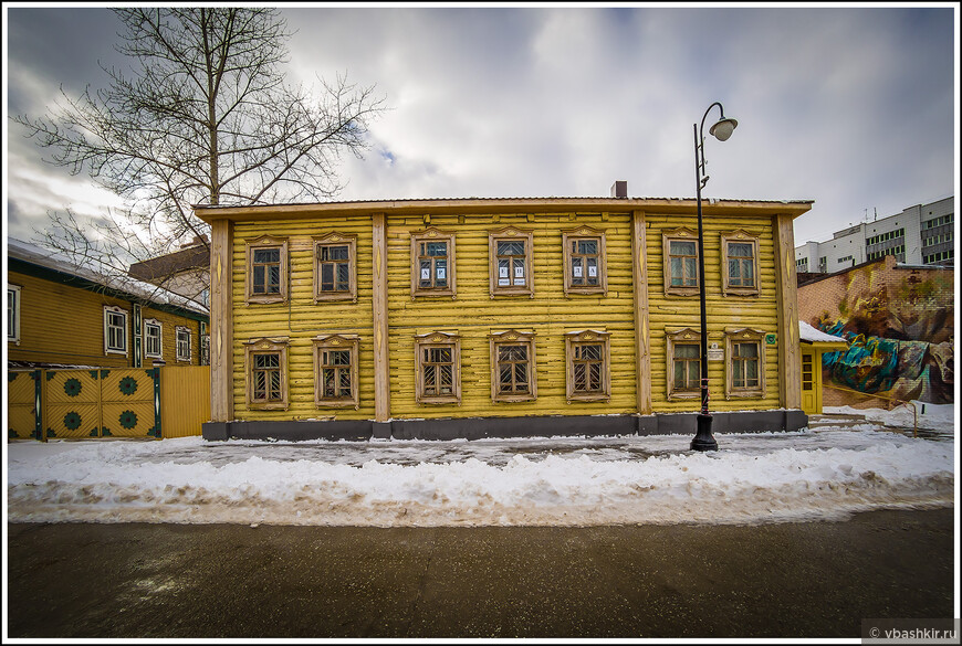 Дом на улице Каюма Насыри.