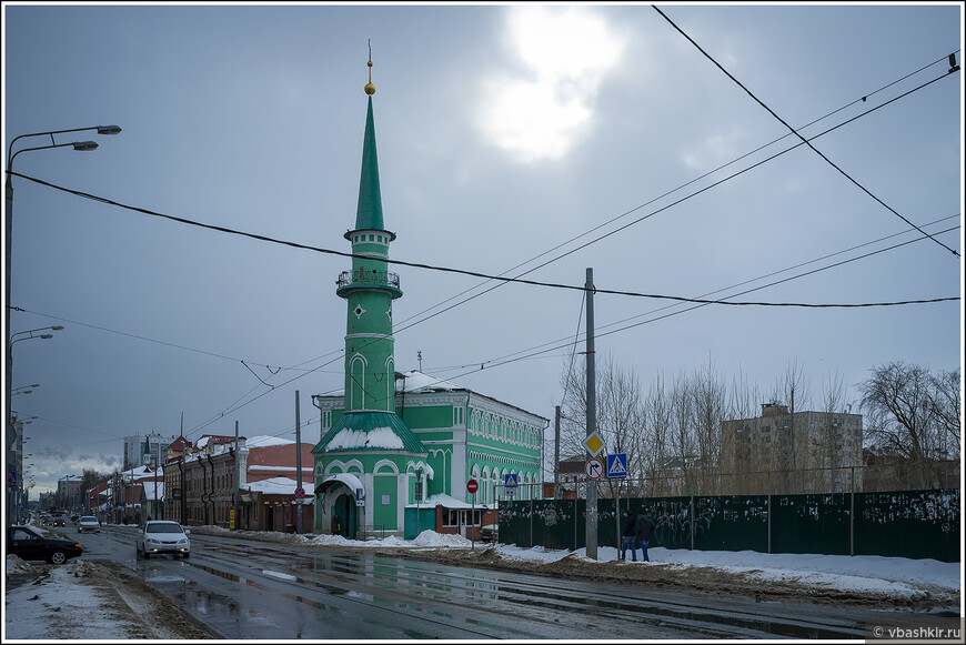 Султановская мечеть.