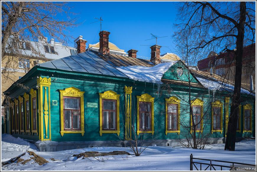 Деревянная архитектура Старо-Татарской слободы.