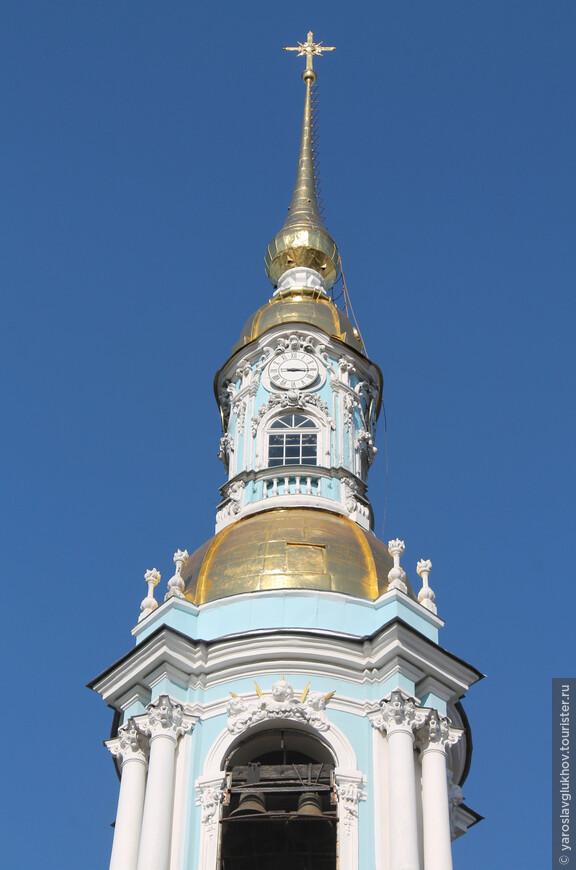Верхушка колокольни.