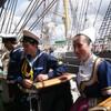 Посещение русского корабля бретонцами