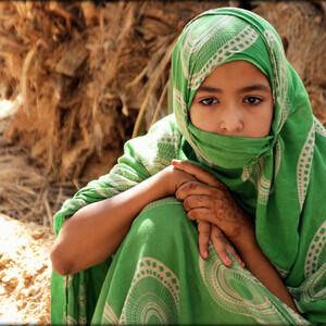 Детское лицо Мавритании