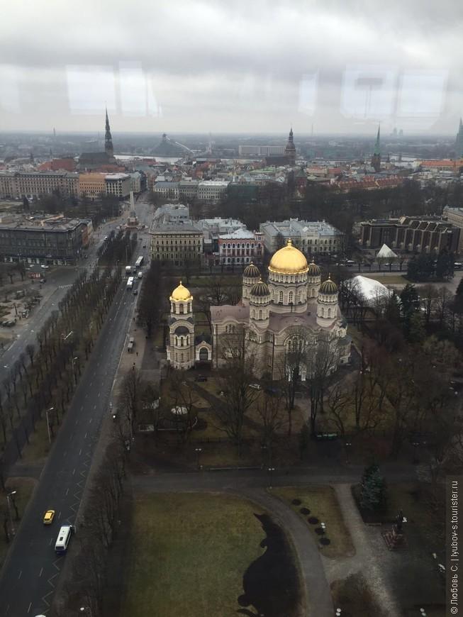 Самый большой православный Собор Латвии.