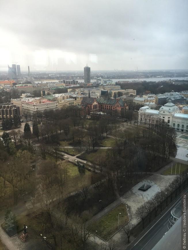 Вид на Ригу с 26 этажа...