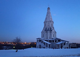 Зимние прогулки по Москве