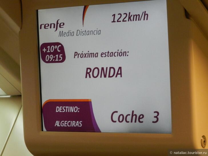 За один день из Гранады в Ронду, затем в Севилью