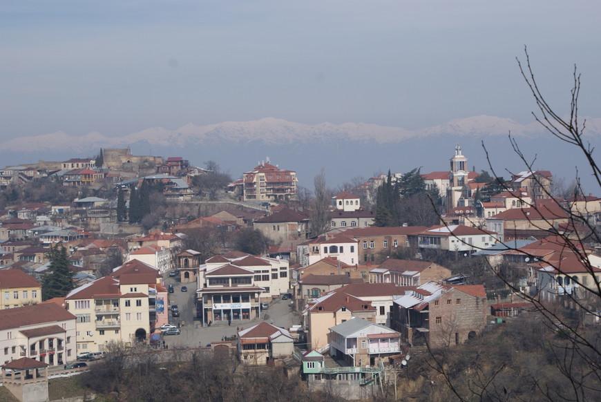Город  Сигнаги, регион Кахети.