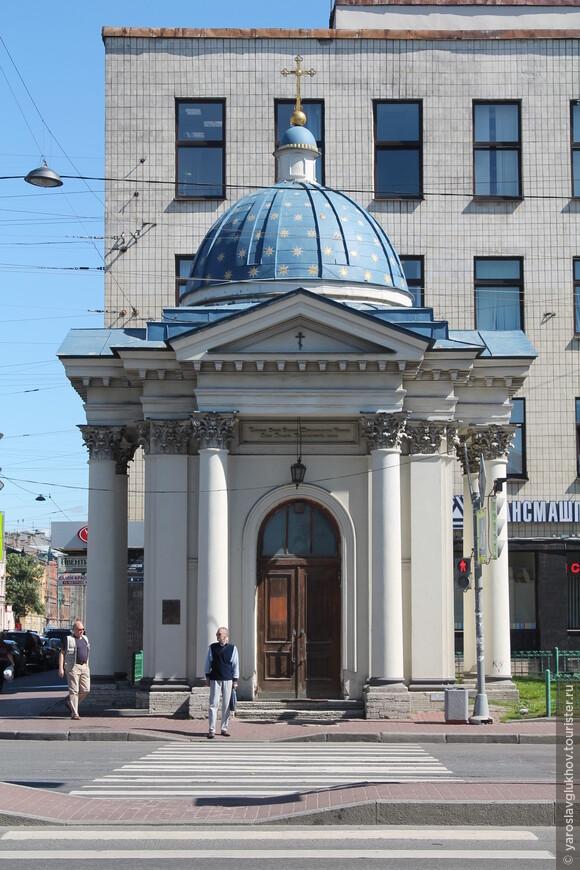 Часовня Свято-Троицкого Измайловского собора.