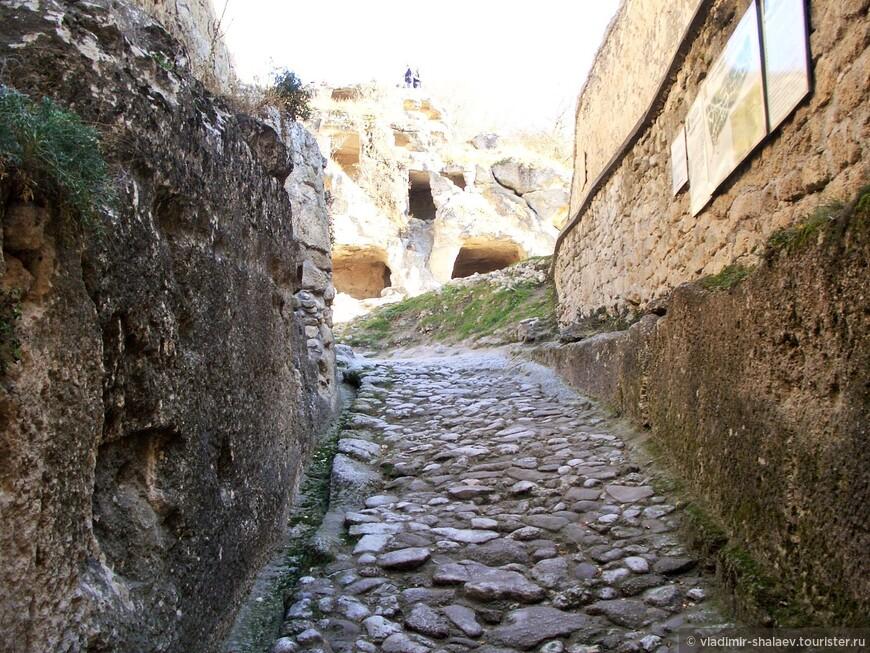 Улица средневекового города.