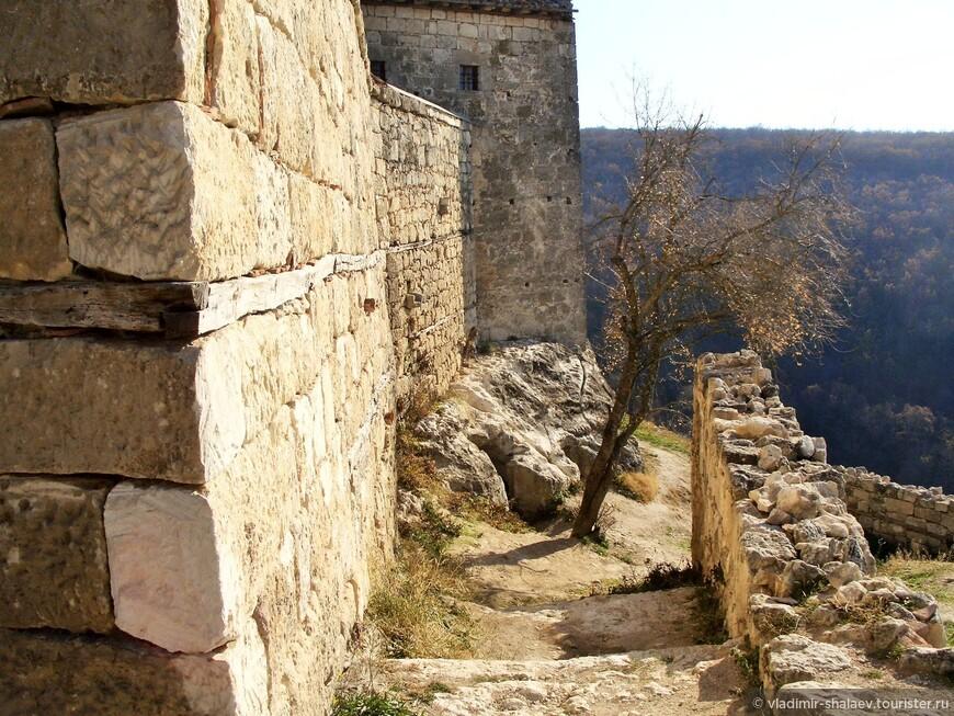 Спуск  в Иосафатову долину.