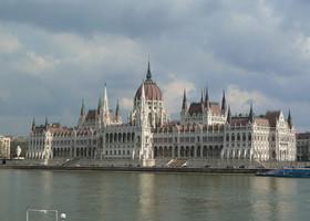 Будапешт в марте.