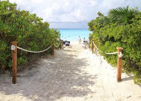 Дорога к морю. На Багамах самый приятный песок!