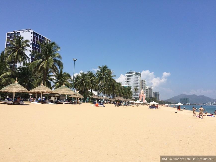 пляжи Ня Чанга великолепны.