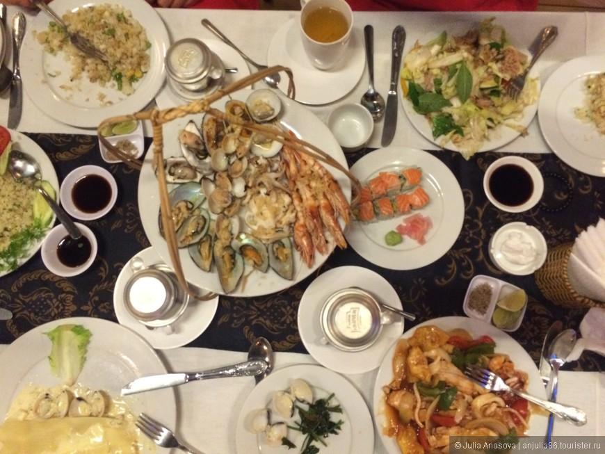 Обычный ужин в Ня Чанге ;)