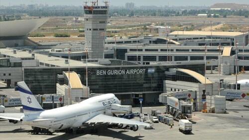 Израильский аэропорт Бен Гурион