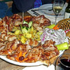 Ражничи, Плескавица, Чевапи - блюда с гриля