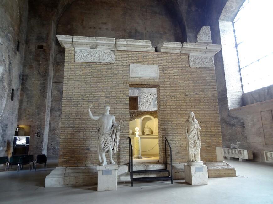 Термы построены в 305 г н.э.