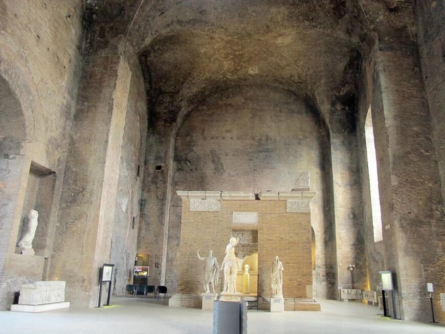 Любой житель Рима мог посетить эти термы, это было доступно