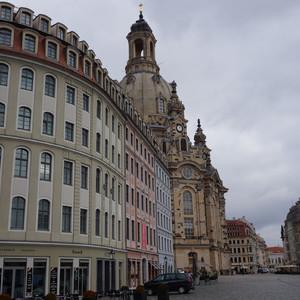 Холодный мартовский день в Дрездене.