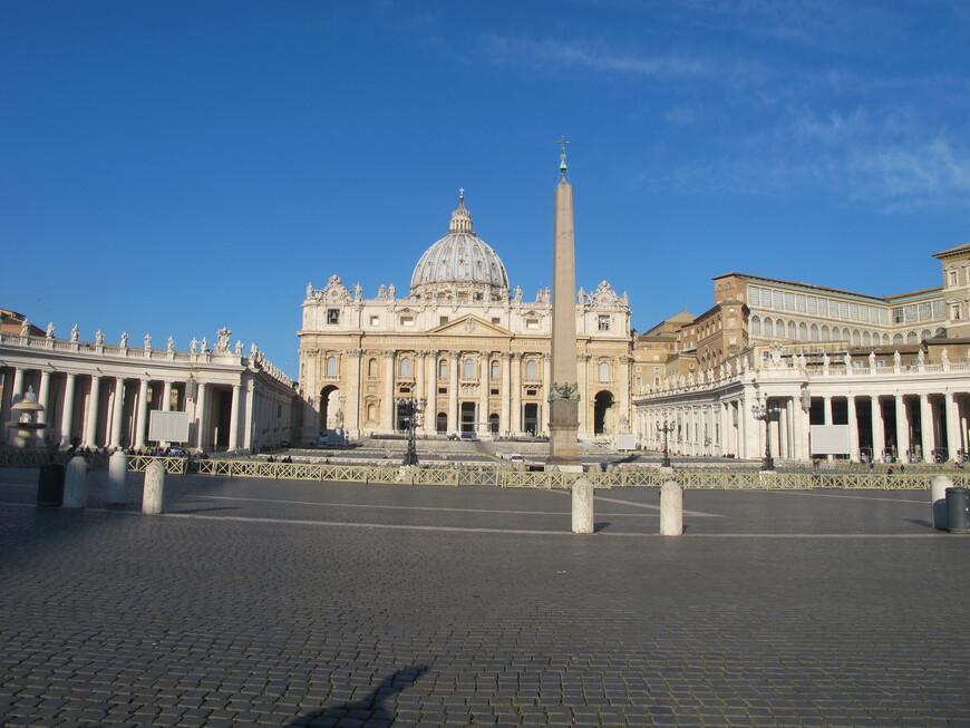 Собор Святого Петра утром