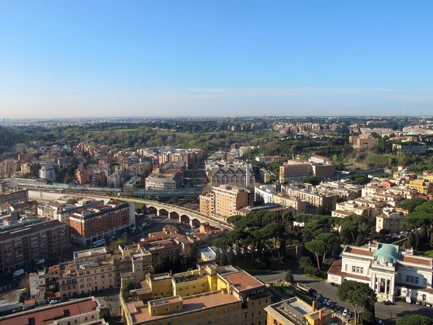 Рим с купола Собора Св. Петра