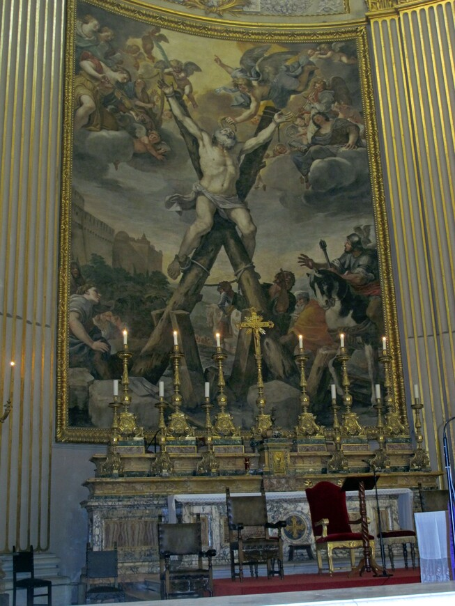 В базилике Сант-Андреа-делле Валле