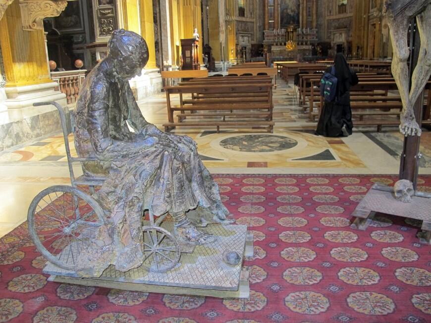 В базилике S. Alexander Cardinalis