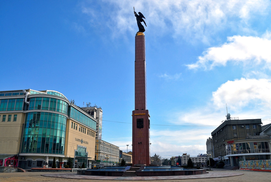 Статуя ангела, г. Ставрополь