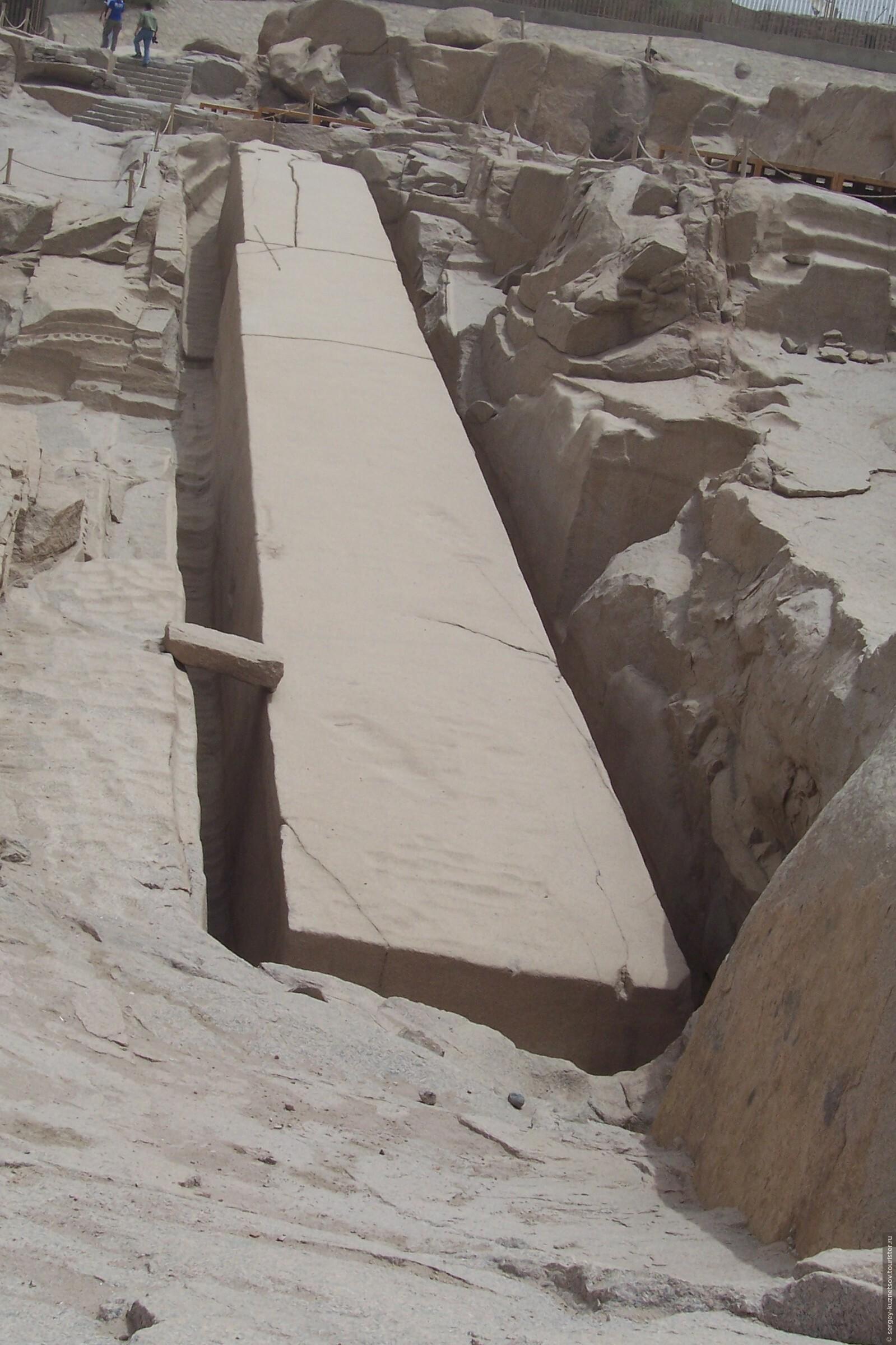 Незаконченный обелиск Асуана (7 фото) изоражения