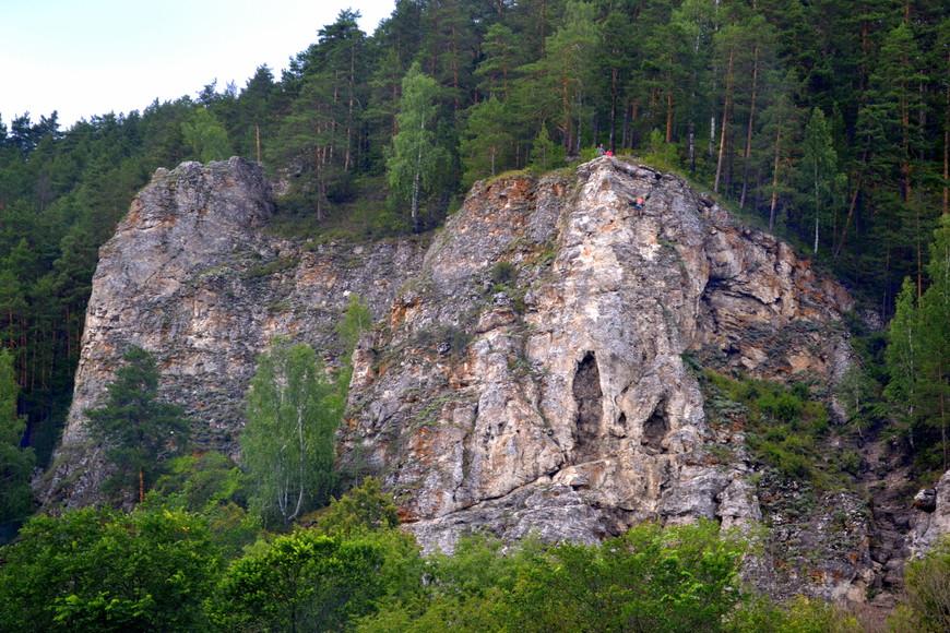 """Мы не ищем простых путей.Камень,гора,утес """"Ермак"""""""