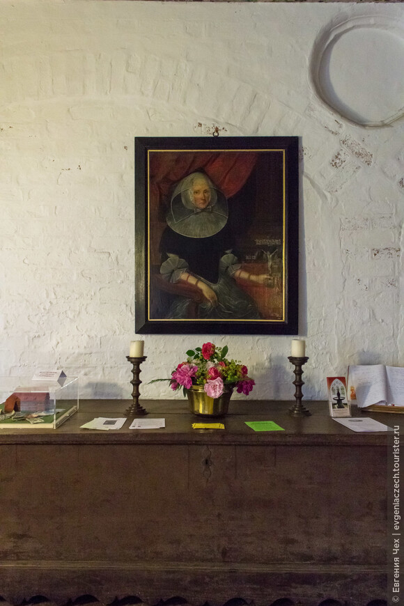 В монастырь чтут память абатиссы, пропагандирующей лютеранскае учение