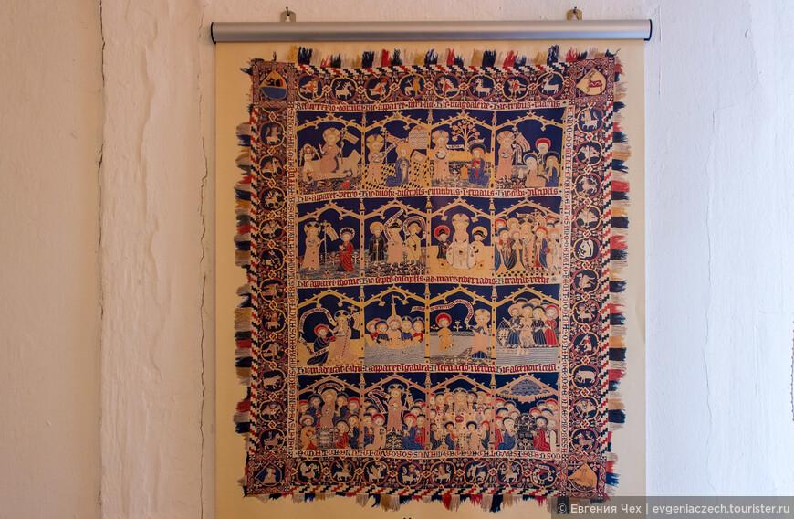 В музее текстиля можно полюбоваться настоящими произведениями искусства монастырских рукодельниц