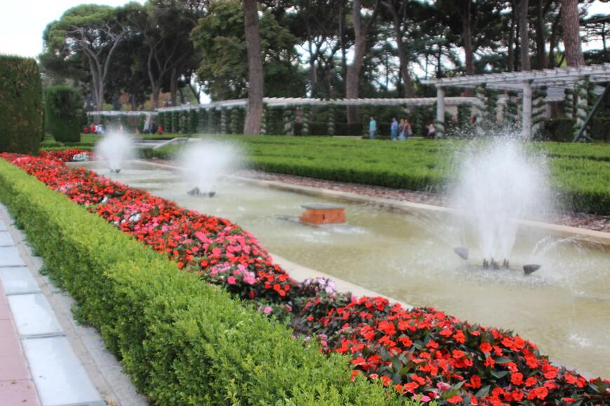 Фонтаны в парке Ретиро. Павильон с Павлинами