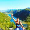Радость от посещения озера - не знает границ)