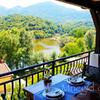 Вид из ресторана на реку