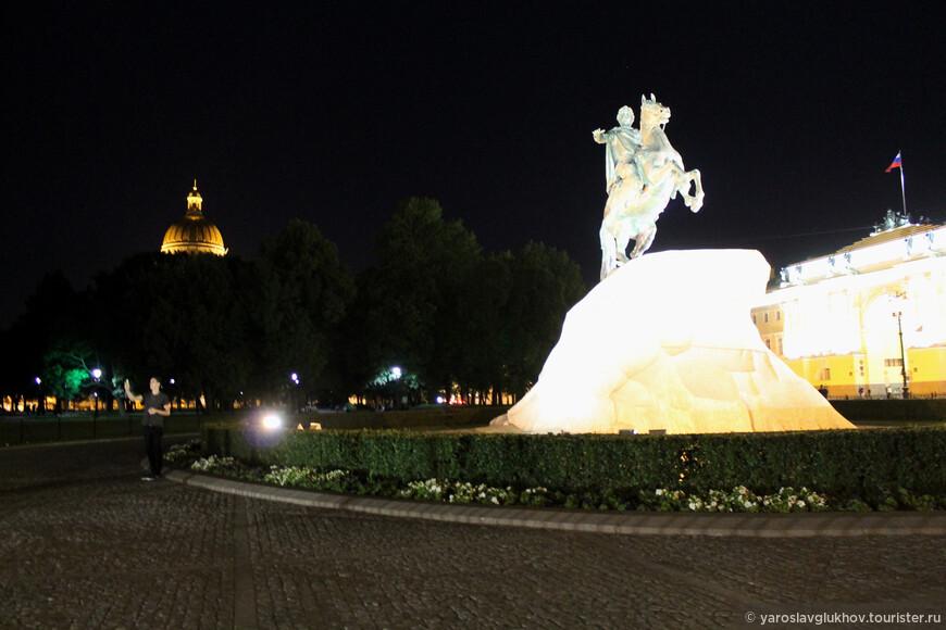 Ночь на Сенатской площади.